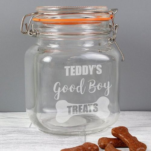 Good Boy Treats Glass Kilner Jar